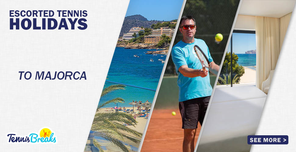 4 Night Break for Improver to Advanced Recreational Players to Paguera, Majorca, 7-11 October 2020 (14 hours coaching). From £499.