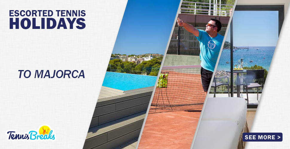 4 Night Break for Advanced Players to Good Club Players Paguera, Majorca, 20-24 May 2020 (14 hours coaching). From £499.