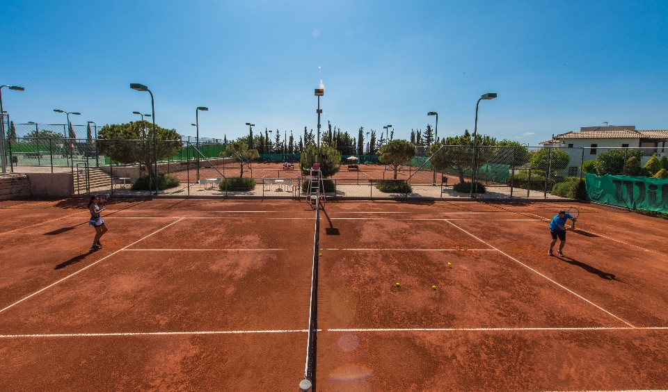 Tennis courts Aphrodite Hills